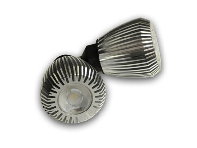 LEDスポットライト8W (口金E11)3000K(電球色)